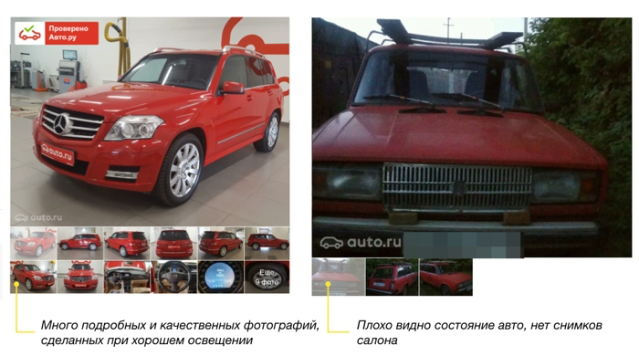 Правила составления объявлений - Auto.ru. Помощь 44bd563c4f8