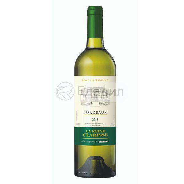 Bordeaux вино белое сухое