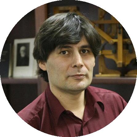 """<p class=""""Institut""""> Nikolai Andreev, <br>Head of Popularization<br> of Math, Steklov Institute, LOC </p>"""