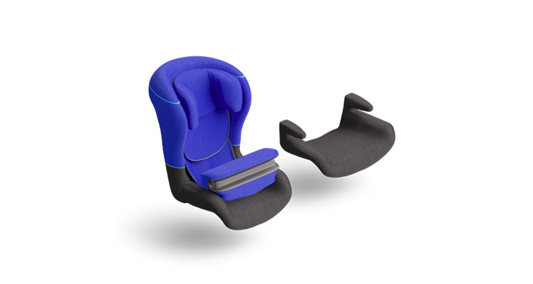 <br>Child safety seats<br>in Kids service class
