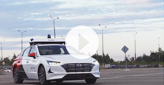 Yandex and Hyundai Mobis introduce self-driving Sonata