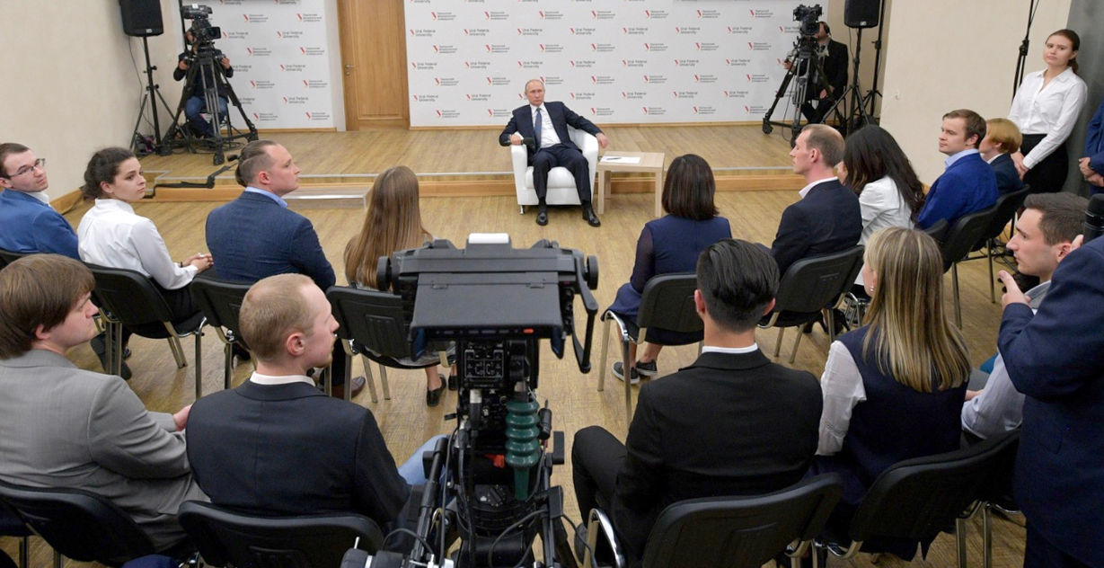 Владимир Путин пообещал попросить ГК «Росатом» изучить изобретение молодого ученого УрФУ — медалиста олимпиады «Я—профессионал»